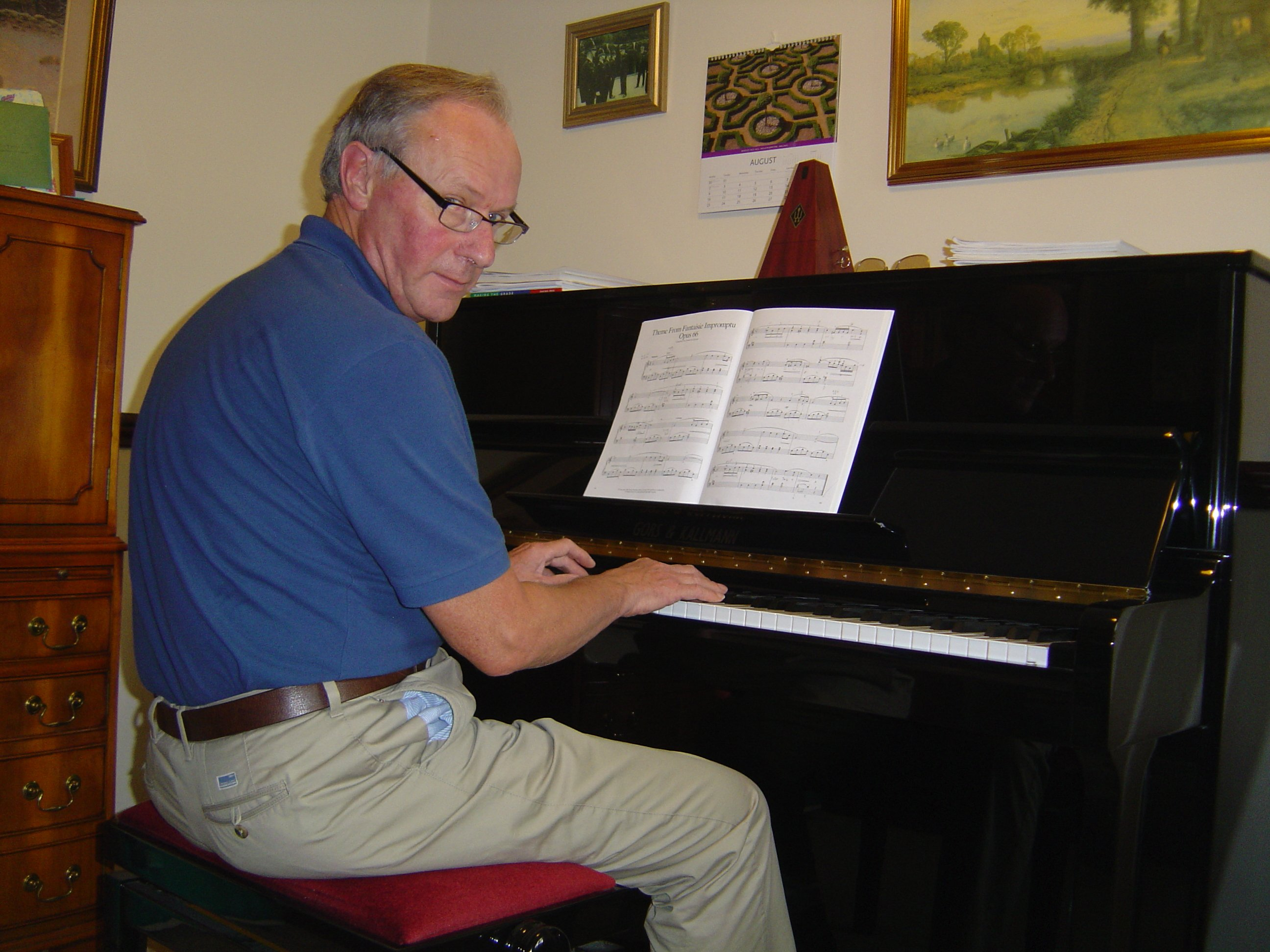 Me Playing Piano at Shireway